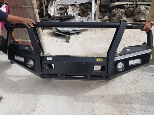 land cruiser front bumper 2016