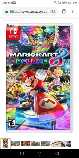 mario cart 8 deluxe for nintendo