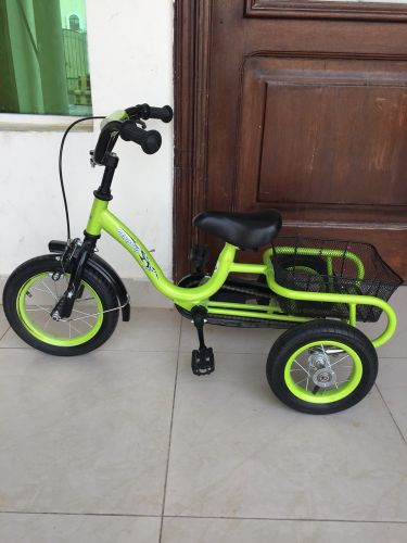 Baby bycycle for sale green