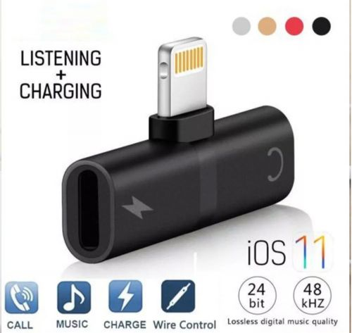 iPhone Audio & Charger Adapter