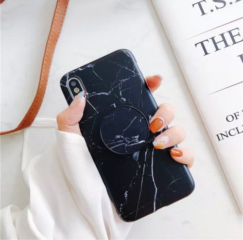 iPhone XS - X marble case
