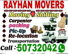 Shiftingh Moving Call...... 50732042