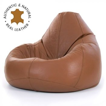 New leather bean bags for sale