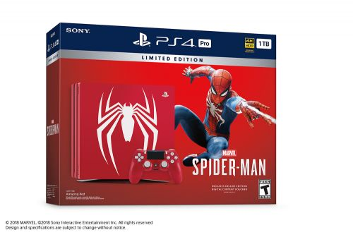 New spiderman ps4 pro