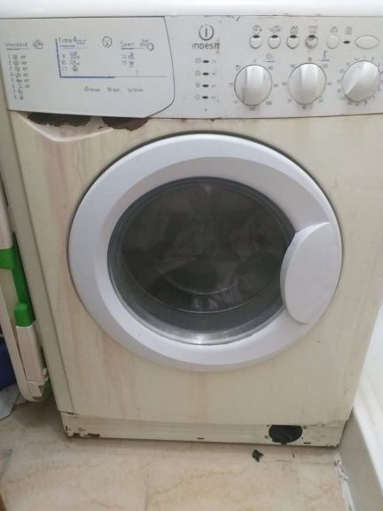 indesit washing machine with dryer