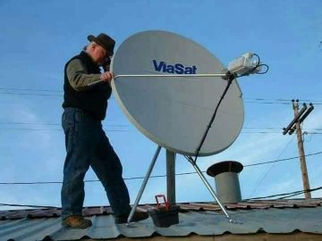 I do all kinds of satellite dish work.an