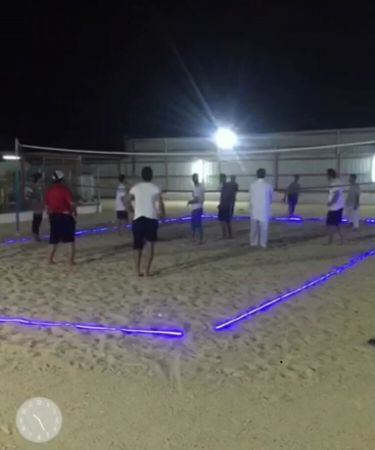 Volleyball net set