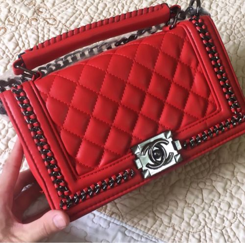 Channel red bag