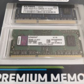 laptop ram memory ddr3 2×2 gb