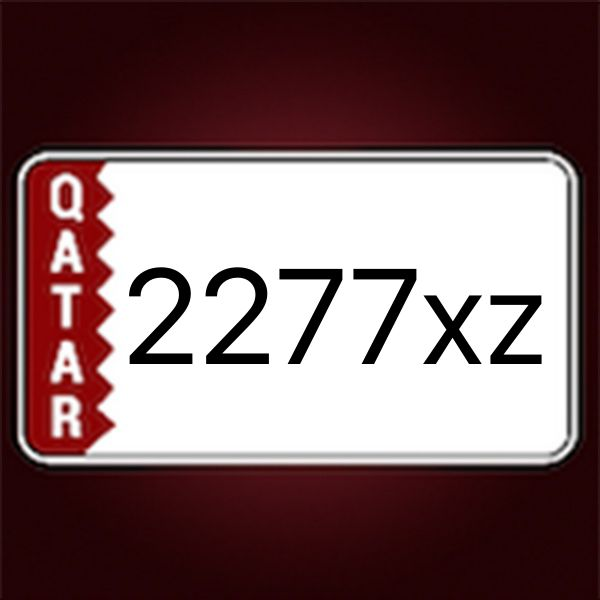 2277 wanted car plate
