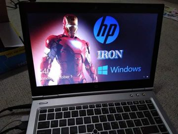 hp iron silver i7 laptop for urgent sell