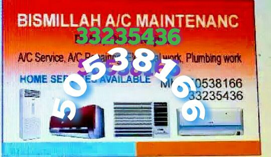 AC servicing electric and plumber