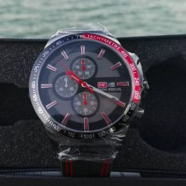 MiniFocus mutli red and black watch