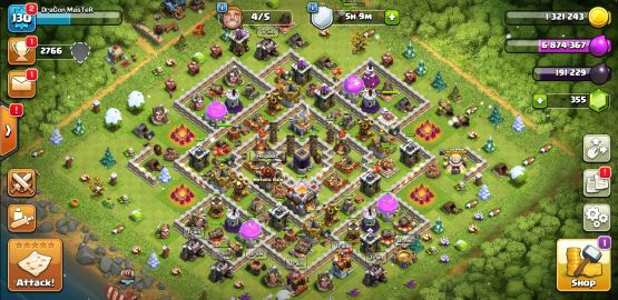 Clash of Clans TH11 Maxed