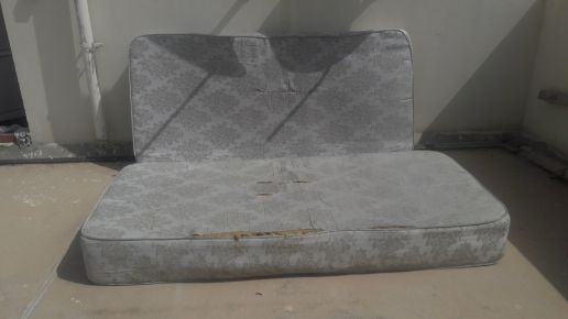2 mattresses.  single size..  used