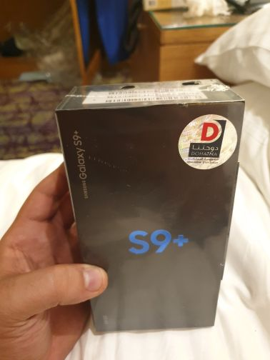 SAMSUNG S9+ BLACK SEALED