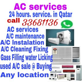 A/C FIXING & SERVICE
