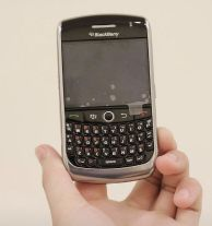 Blackberry curv 8900