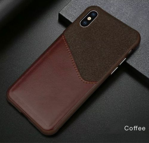 iPhone XS - X leather case