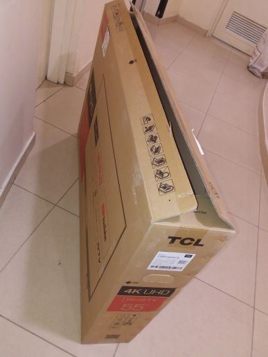 Empty box TCL 55 inch Tv box