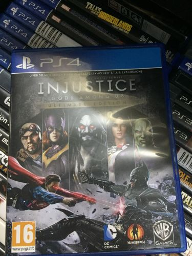 INJUSTICE: Gods Among Us / Ps4