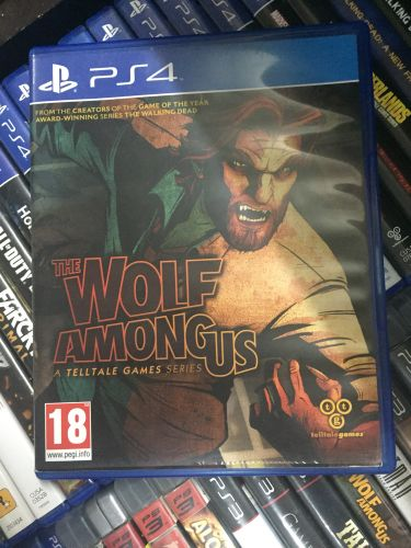 THE WOLF AMONG US: Ps4