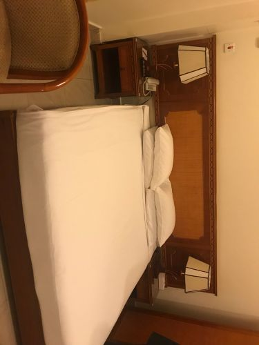 Fully furnished hotel rooms