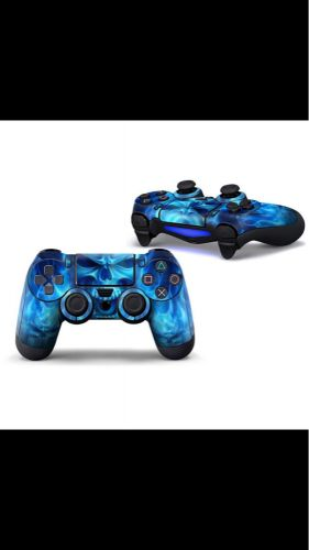 Ps4 controller fire skull sticker