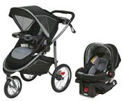 Almost new Graco travel system