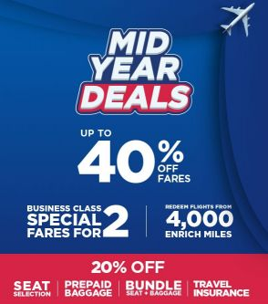 business ticket up to 30% discount