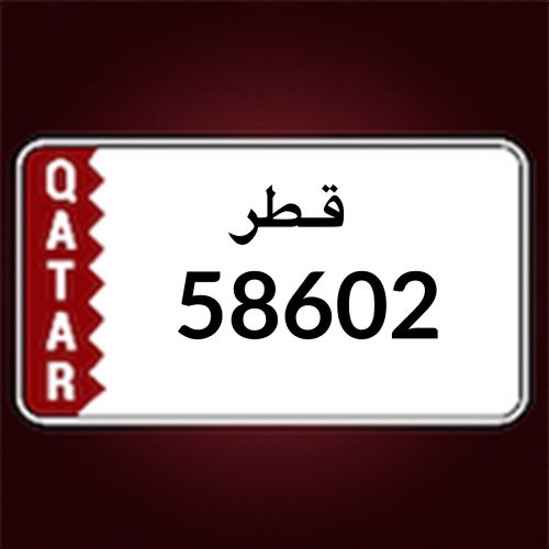Special number for sale 58602
