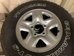 "Diesel Rims 17"" with tyres"