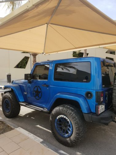 Jeep wrangler modified by Mobar