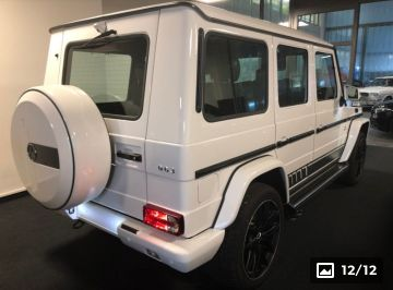 G63 AMG Designo Exclusive Edition