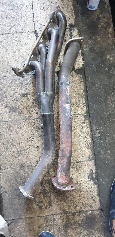 Headers LC200 LX570 5.7L with sport cats