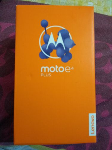 moto e4 plus sealed gold