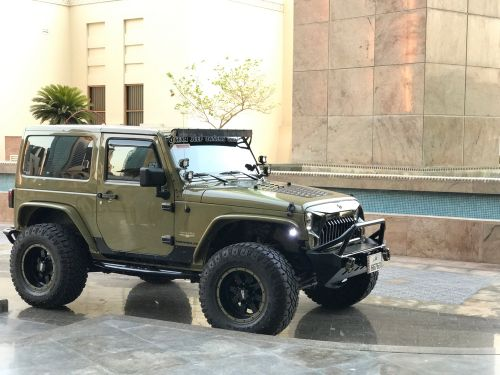 Fully done up Wrangler for sale