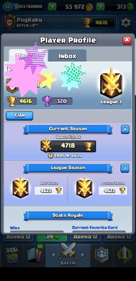 Clash Of Royal Account for Sale