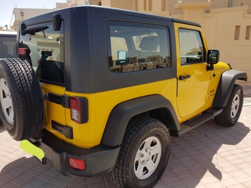 Jeep Wrangler Sports,2009,only 144000km