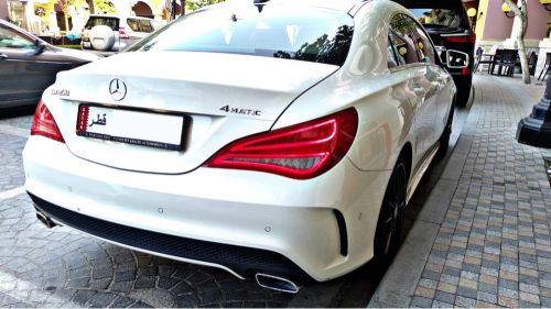 Mercedes CLA250 AMG kit