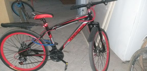 "26"" red bicycle"