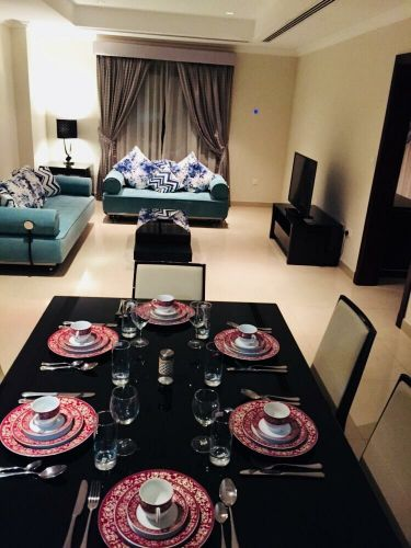 fully furnished 1bhk in pearl
