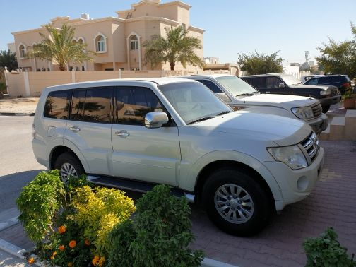 Pajero family used car