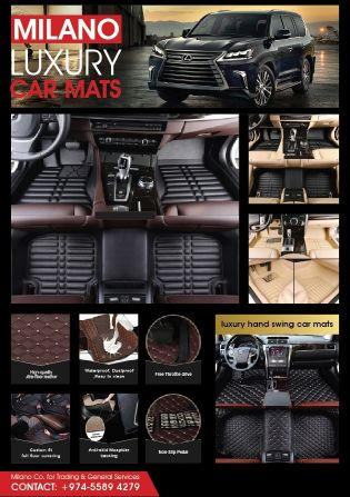 MILANO MATS custom fit