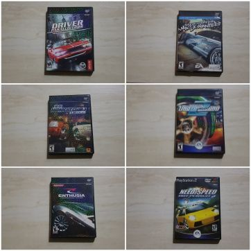 PS2 Games Collection by special price