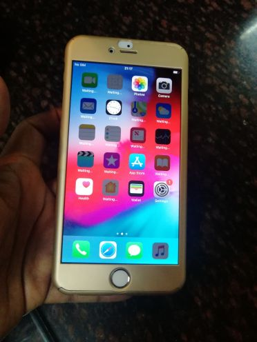 swap or sale I phone 6 plus 64 gb gold c
