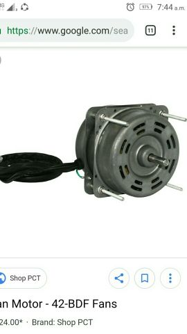 fan motor all tipe of jappan car