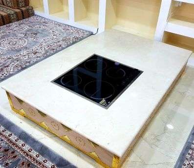 heater in marble