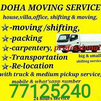 moving shifting & carpentry service
