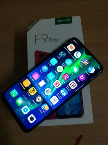 oppo f9 pro blue 64 gb only one days use